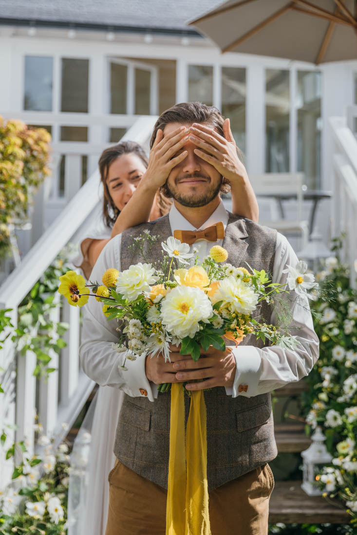 bouquet de mariee mariage bretagne