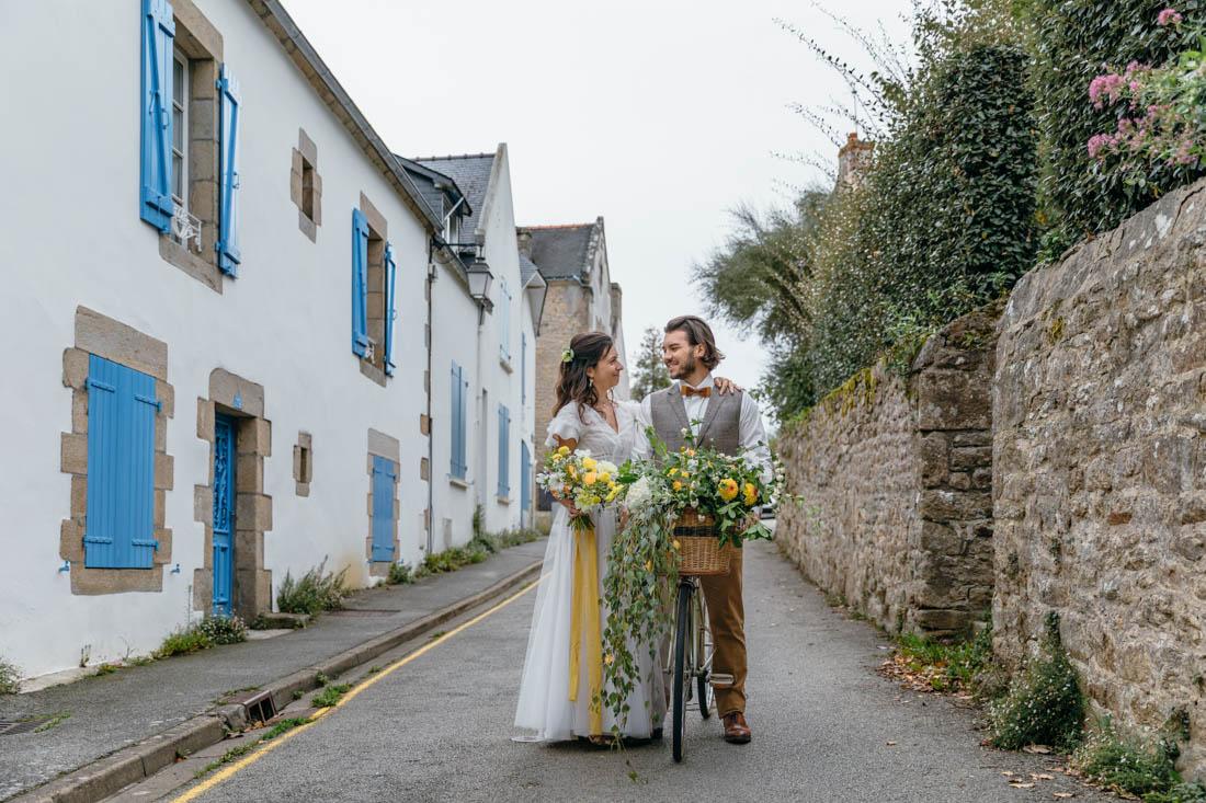 mariage moderne champetre Bretagne