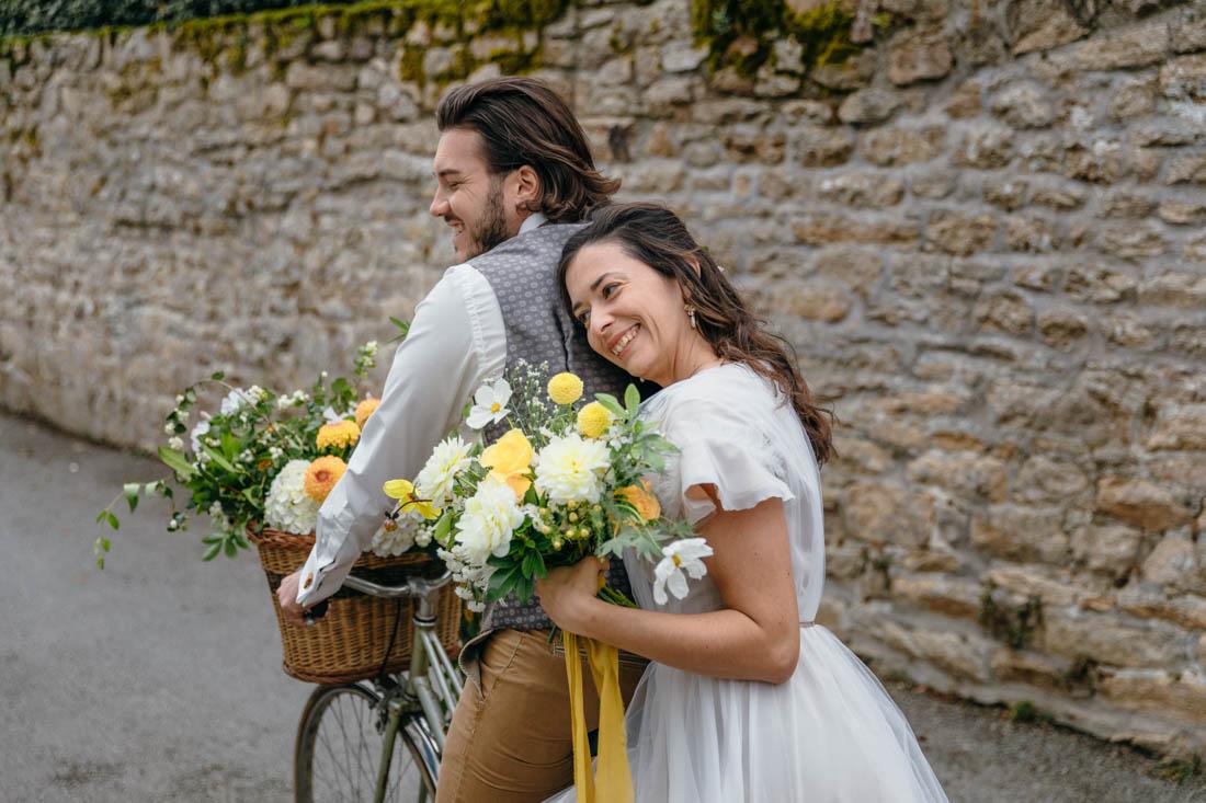 bouquet de mariee ecoresponsable fleuriste bretagne