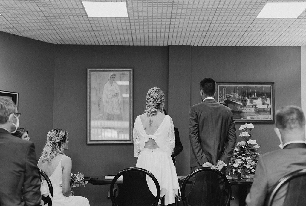 robe de mariee moderne civil