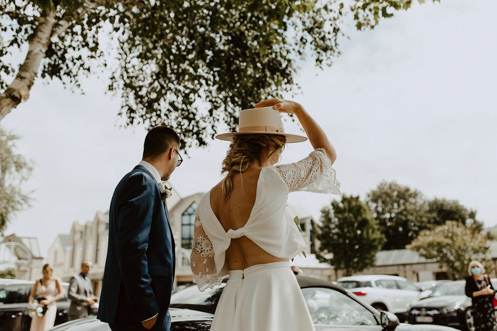 robe de mariee civile moderne