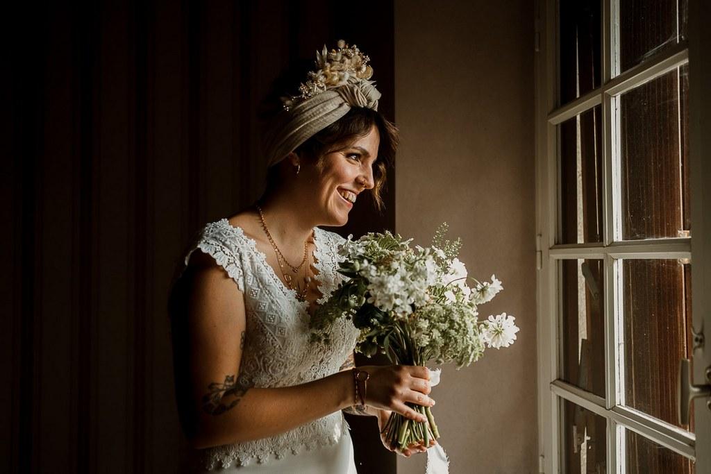Accessoires fleurs séchées mariage