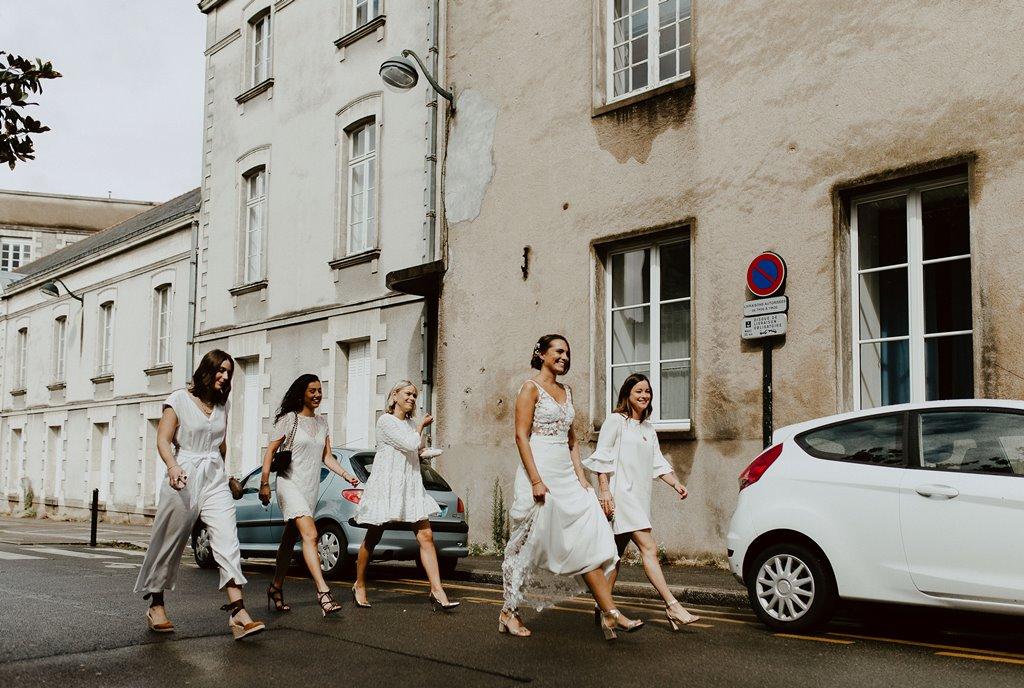 mariage civil nantes mariee report covid19