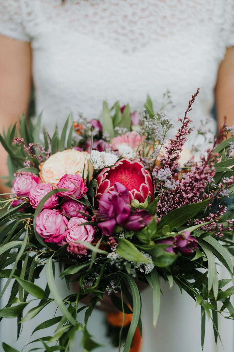 bouquet de la mariee bouquet de fleurs mariage