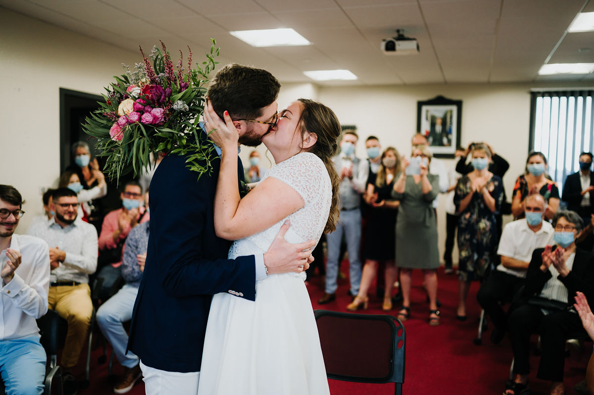 mariage civil marie bretagne maries amour