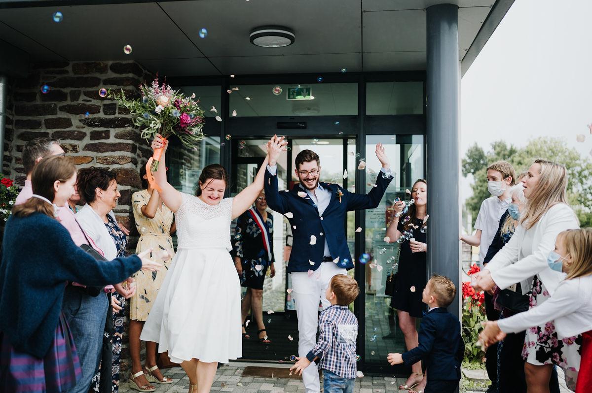 sortie mairie mariage civil