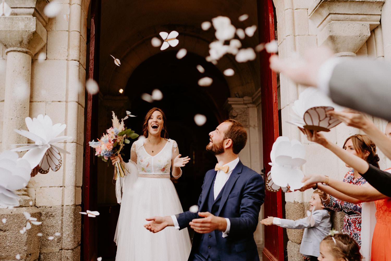 robe de mariée moderne boheme chic
