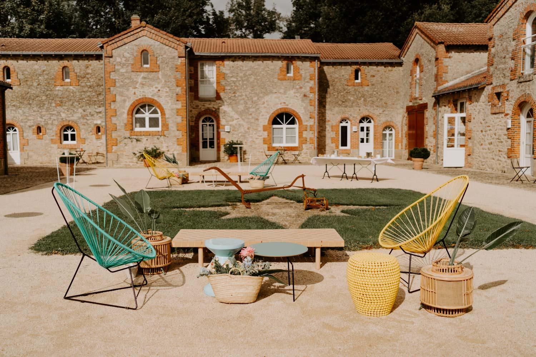 location mobilier mariage événementiel nantes Vendée