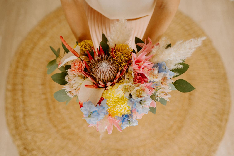 bouquet de mariage fleuriste nantes vendee