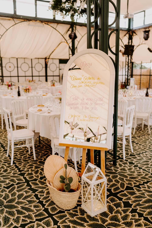 panneau bienvenue decoration mariage vendee