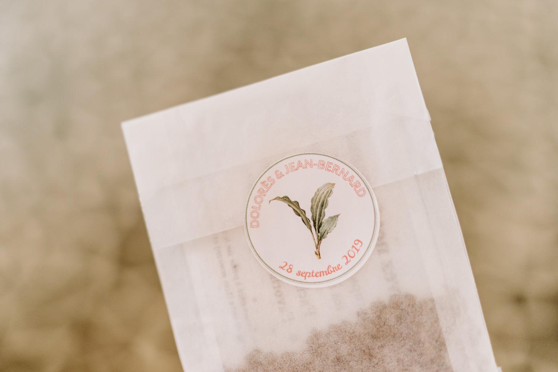 cadeau d'invite mariage vendee