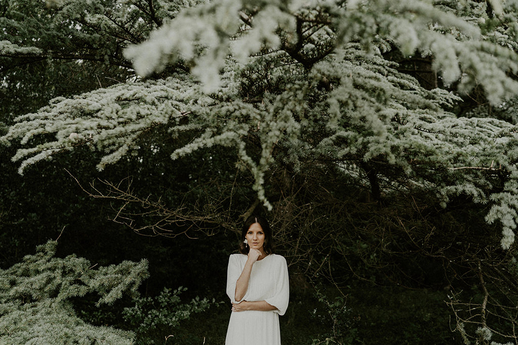 mariee robe inspiration mariage simple epure rennes