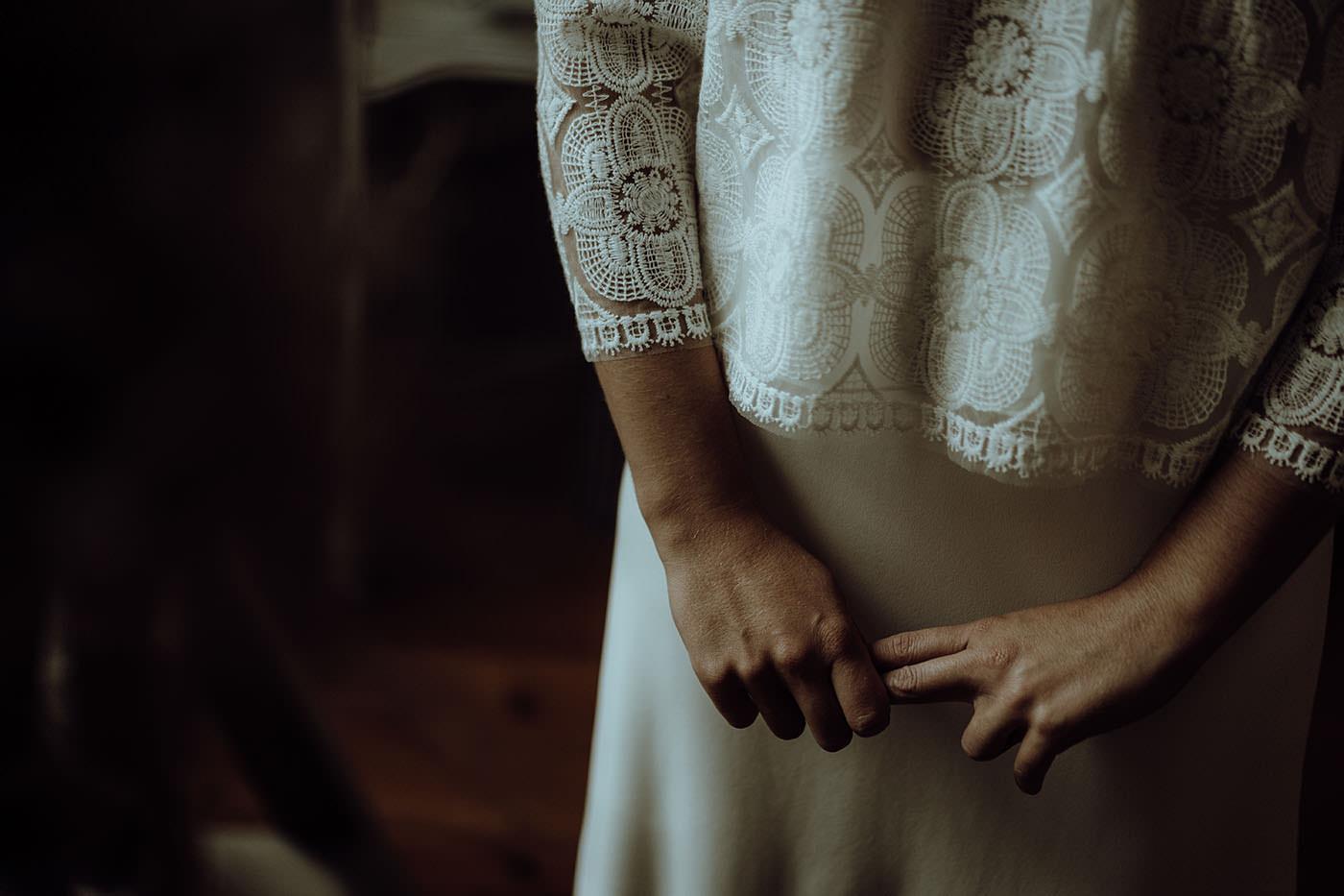 robe de mariage blanche dentelle