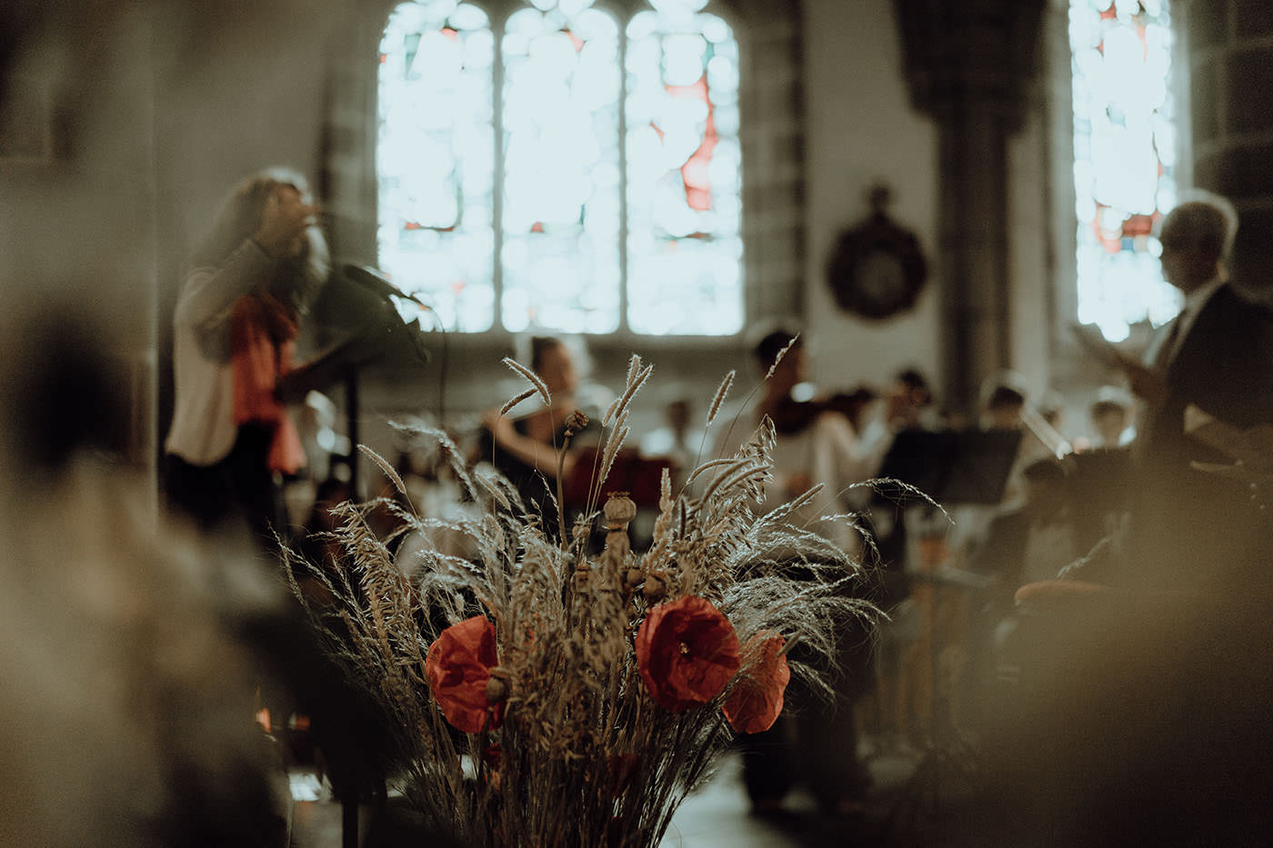 decoration florale eglise bretagne report mariage covid 19