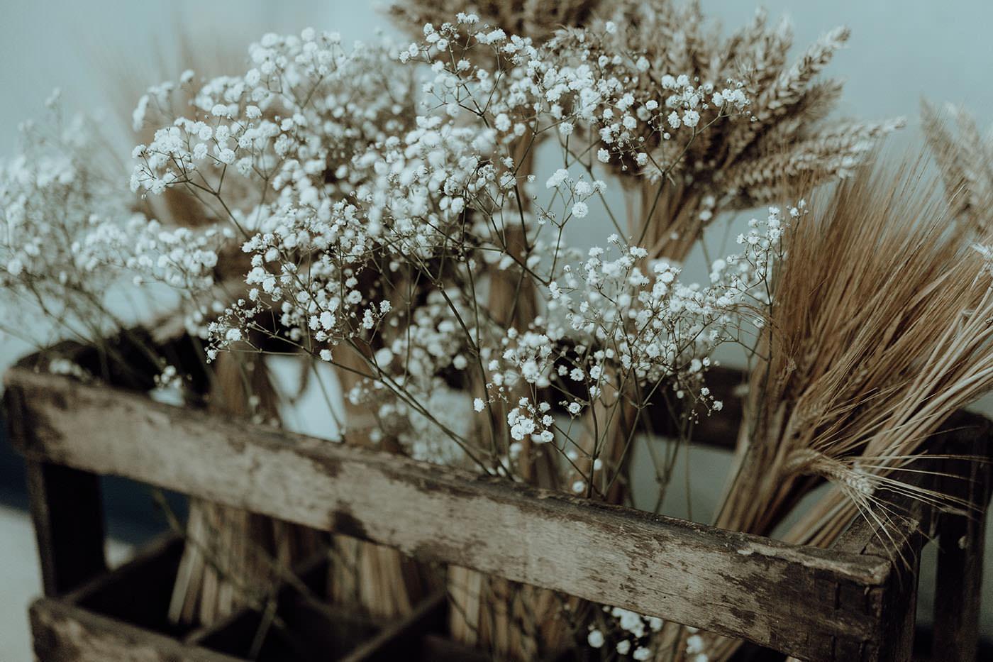 decoration florale mariage vintage chic