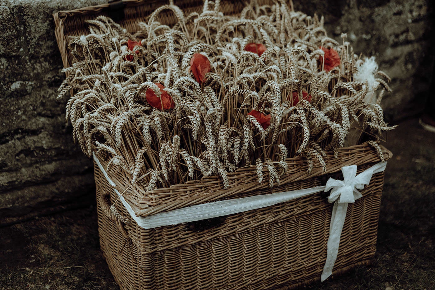 decoration florale mariage champetre