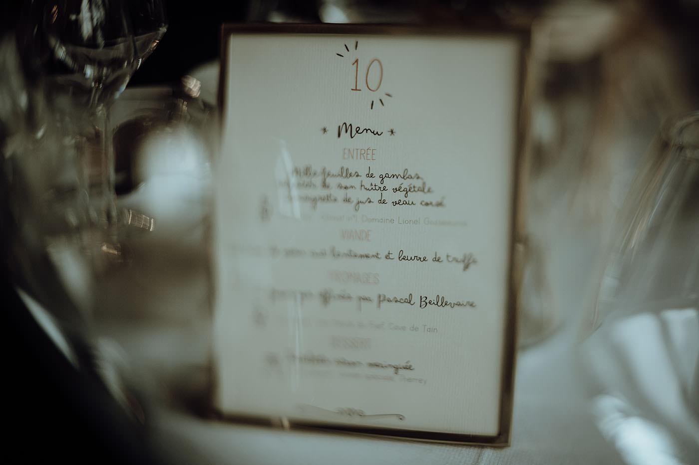 menue repas mariage bretagne