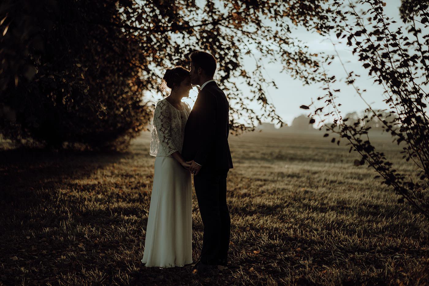 photo de mariage maries amour bretgane