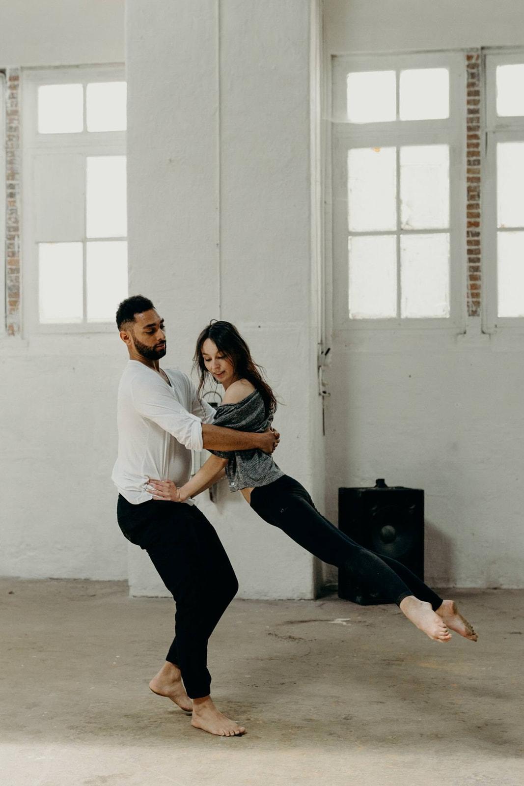 shooting inspiration danse et mariage vendee domaine de l'etabliere