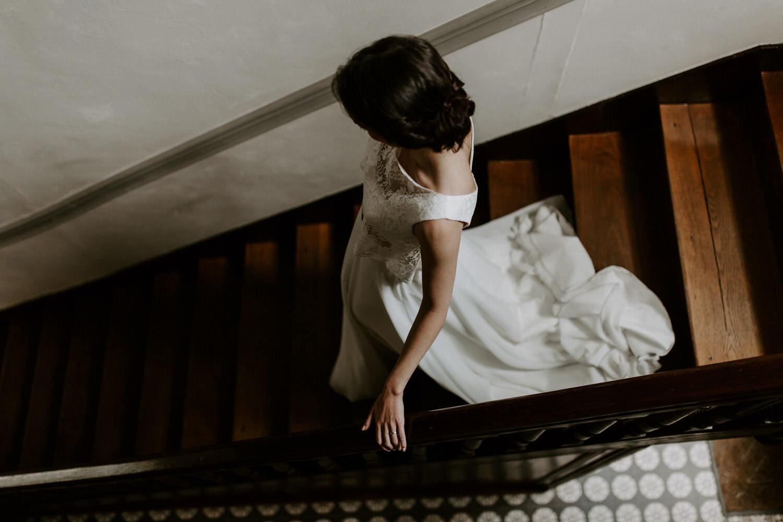 robe de mariee blanche dentelle