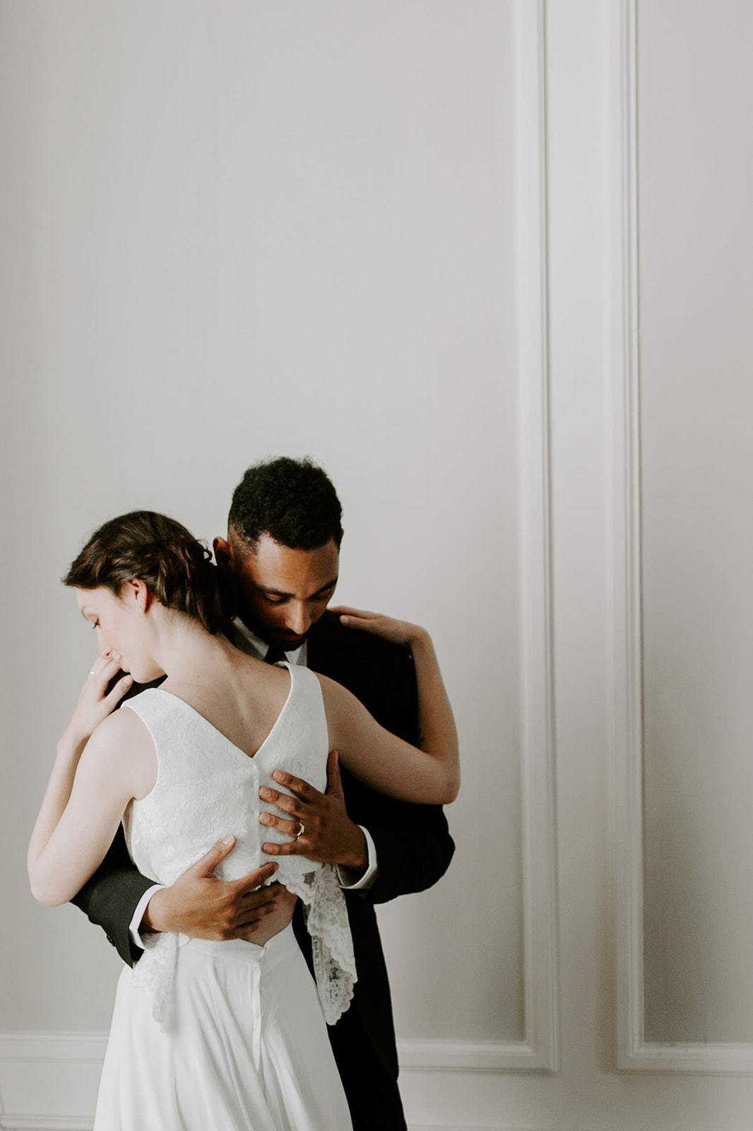 photo de mariage maries amour tendresse