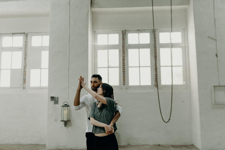 shooting mariage danse vendee domaine de l'etabliere