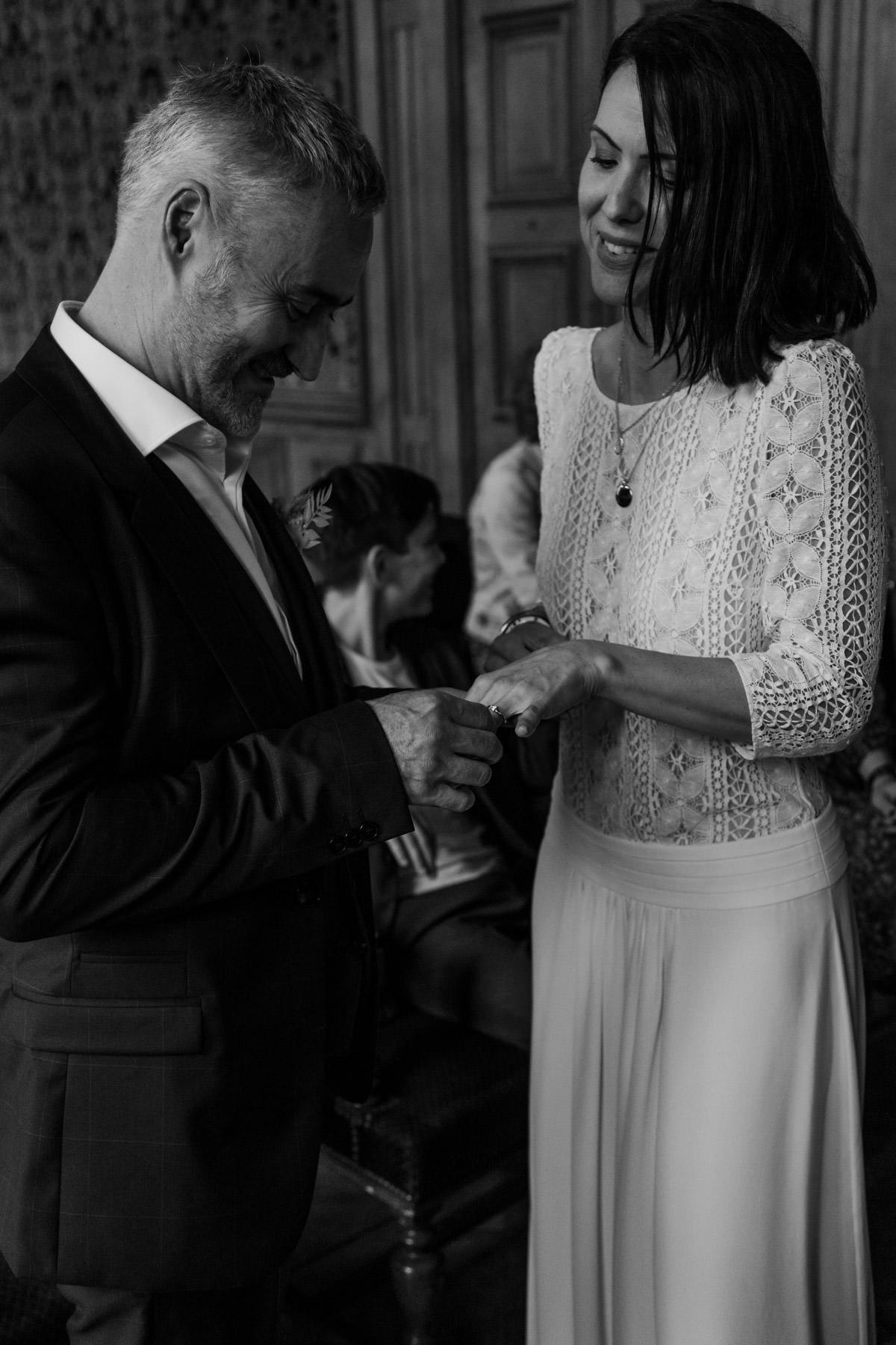 rituels de mariage alliances