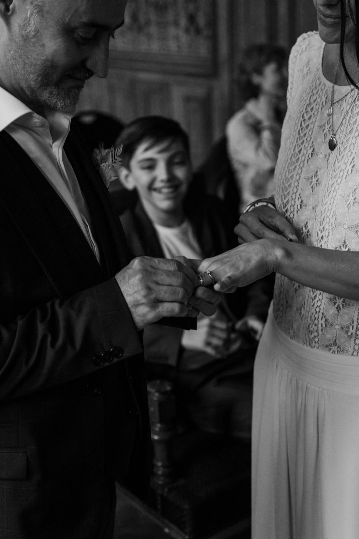 mariage echange d'alliances nantes