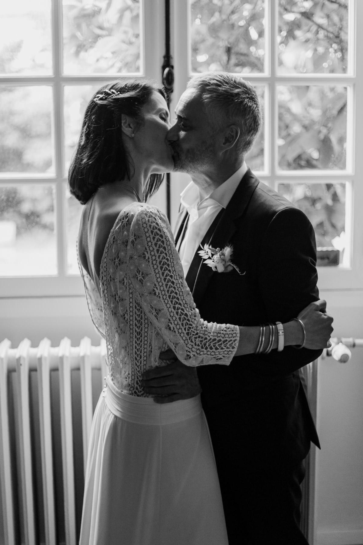 baiser maries mariage nantes le croisic