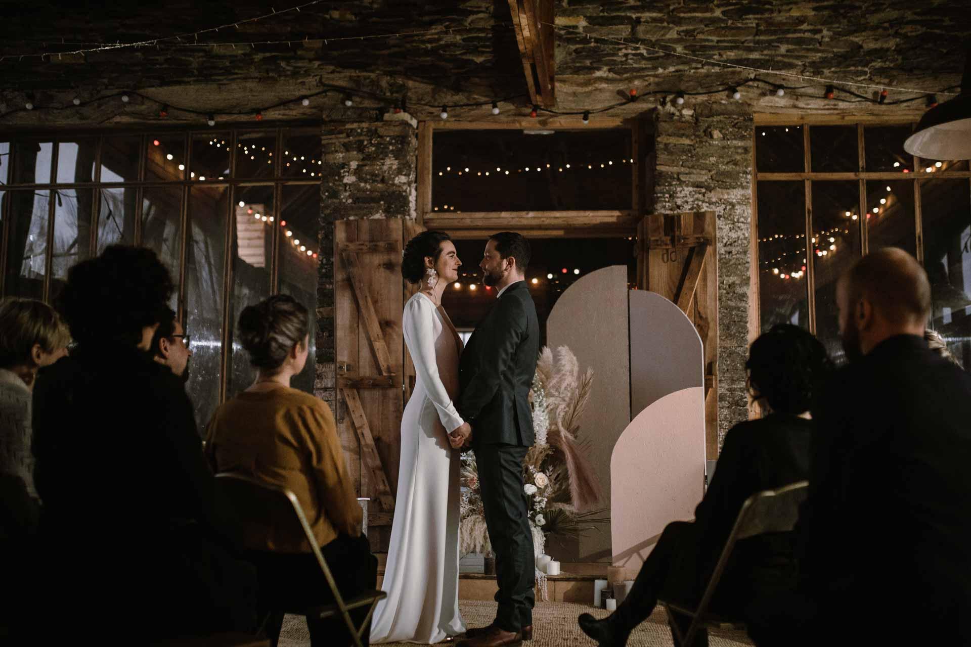 mariage hivernal ceremonie laique bretagne