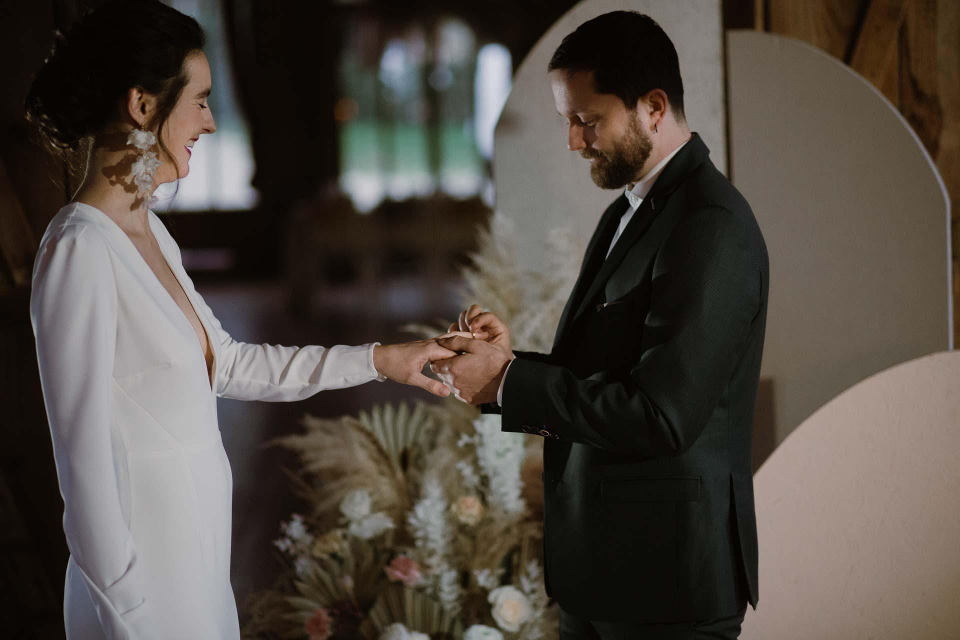 mariage rituels echange d'alliances