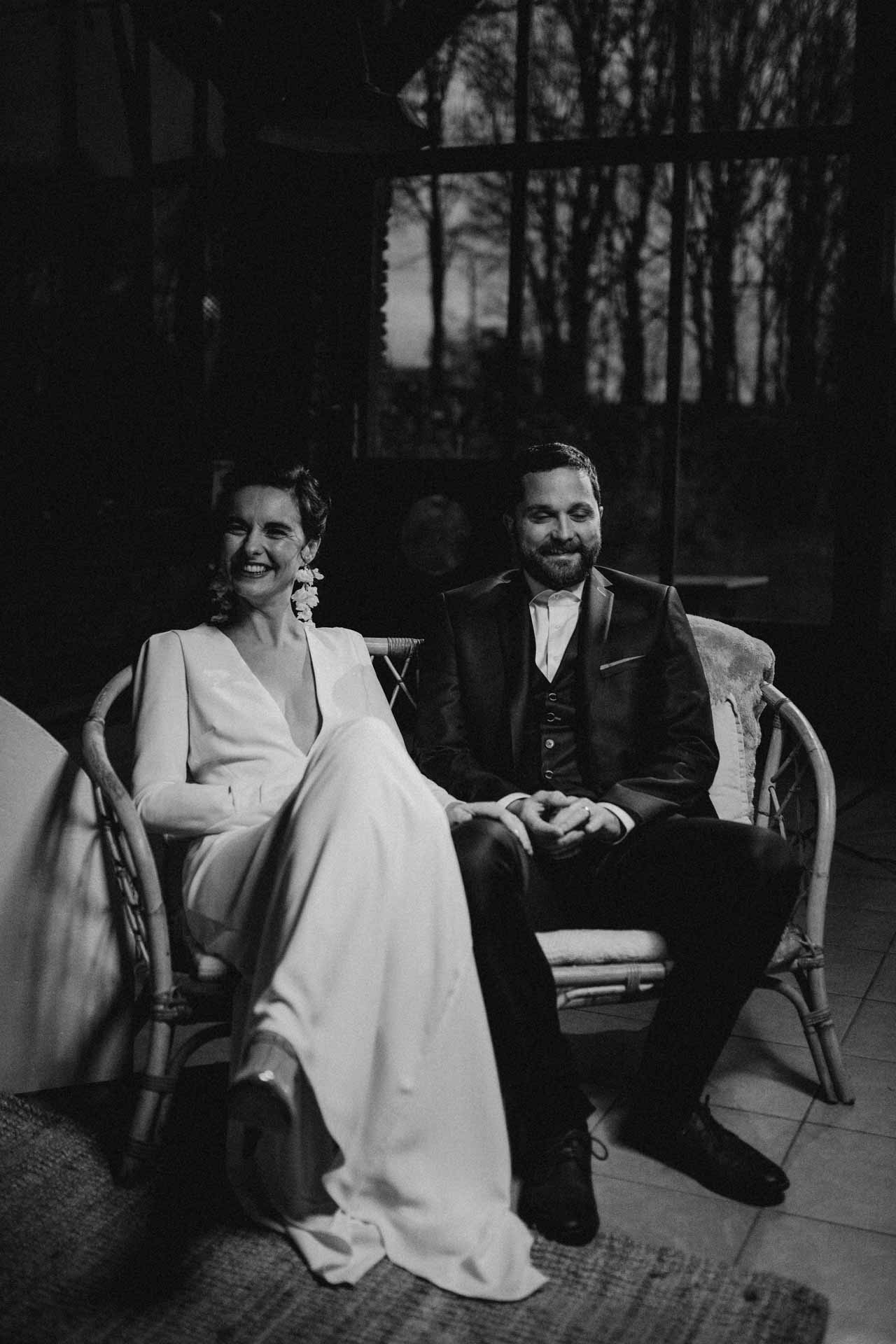 mariage hivernal poetique bretagne robe de mariee costume de marie