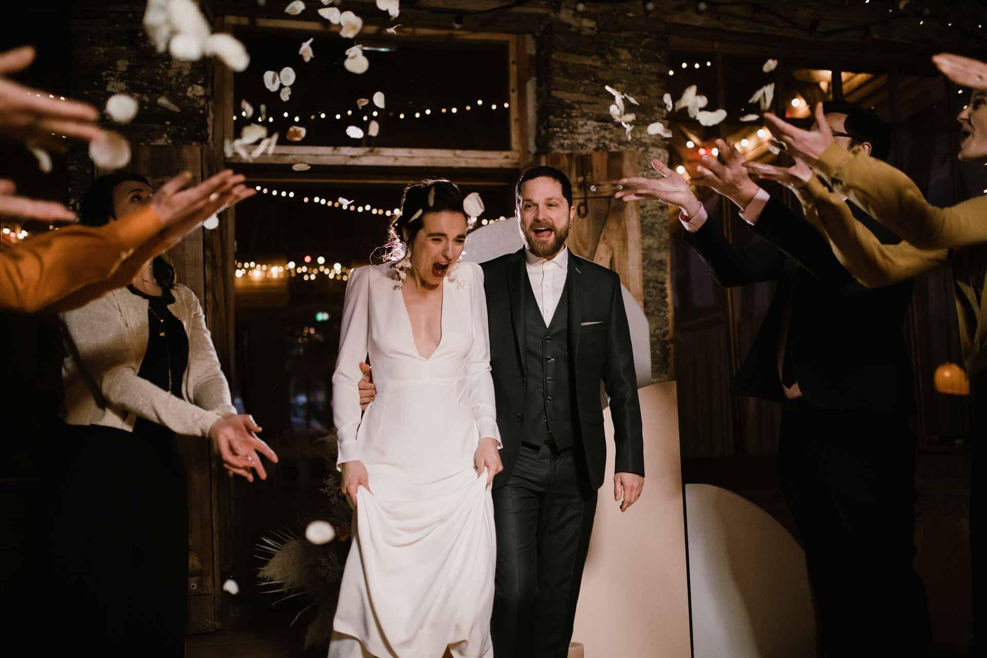 ceremonie de mariage invites famille