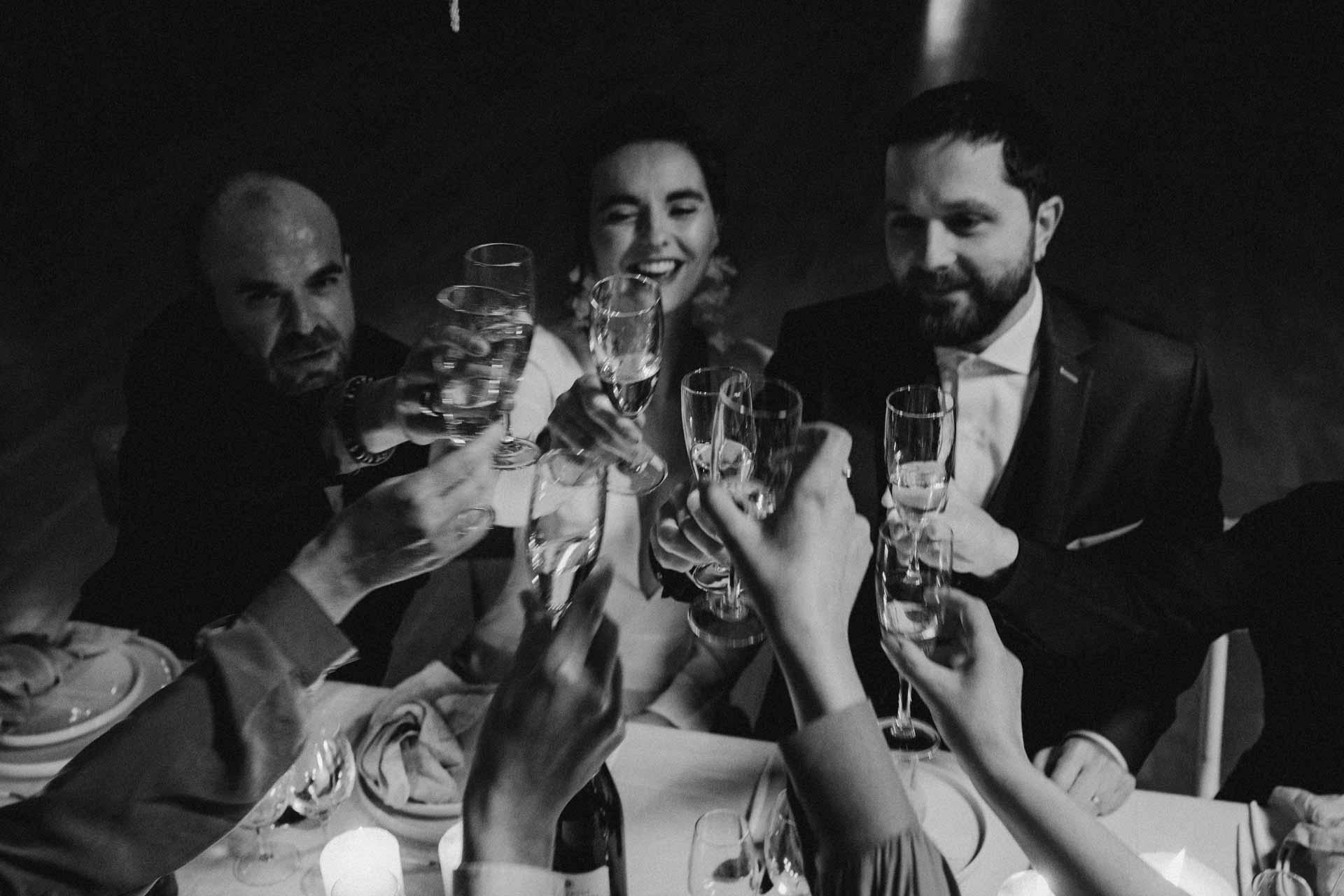 repas mariage invites famille