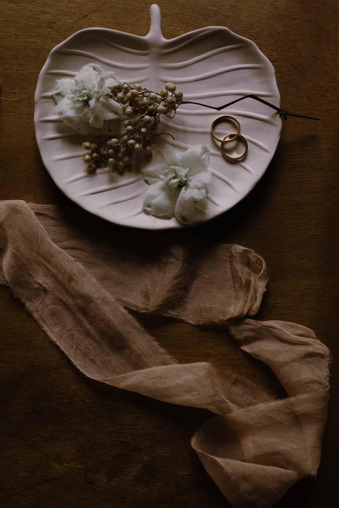 mariage hivernal details bijoux