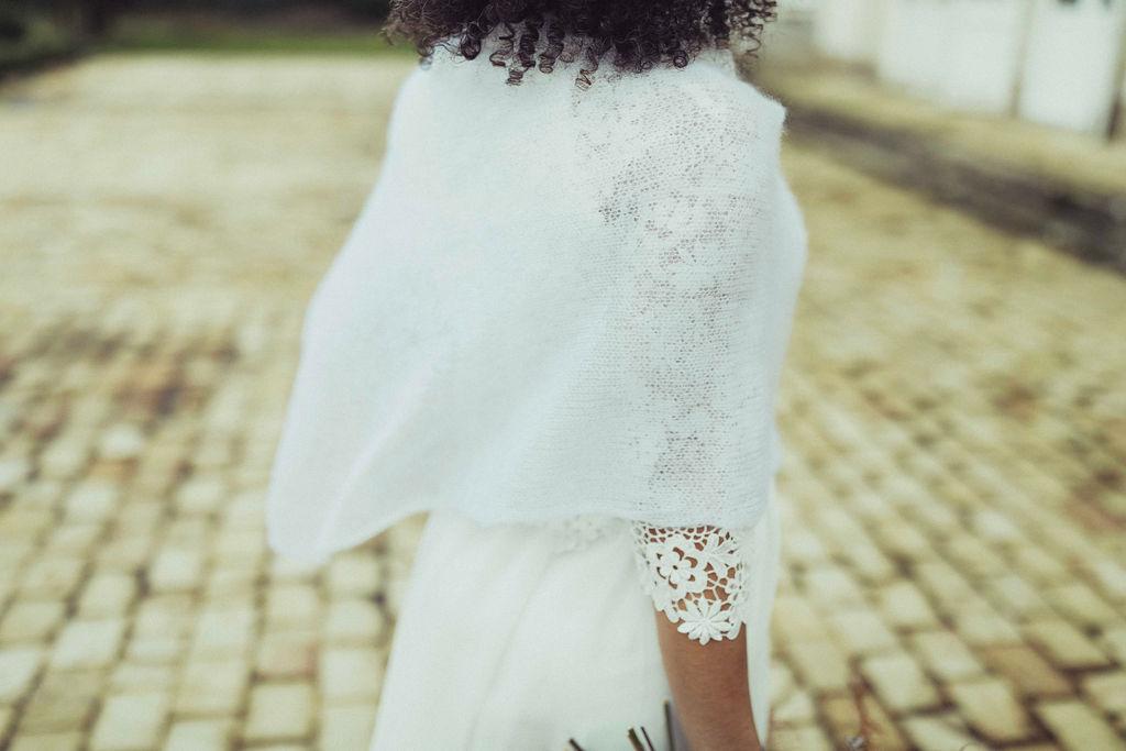 robe de mariee blanche dentelle hiver nantes