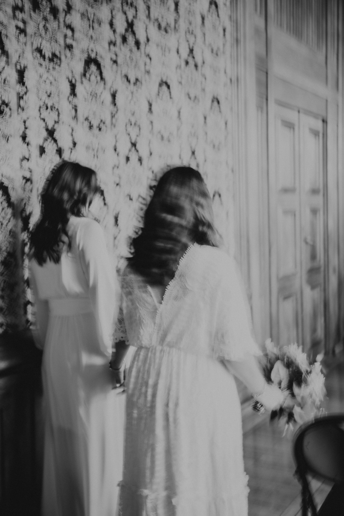 mariage gay robes bouquet de mariee