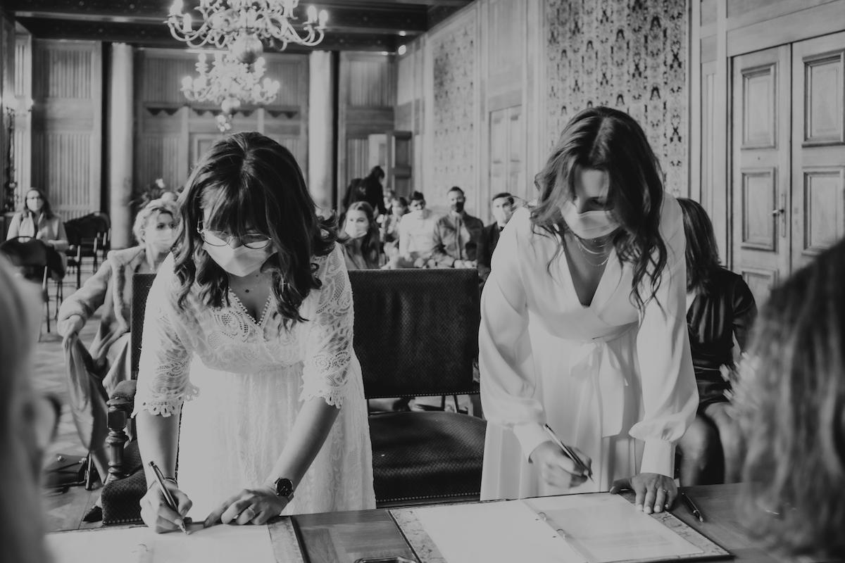 mariage gay ceremonie laique