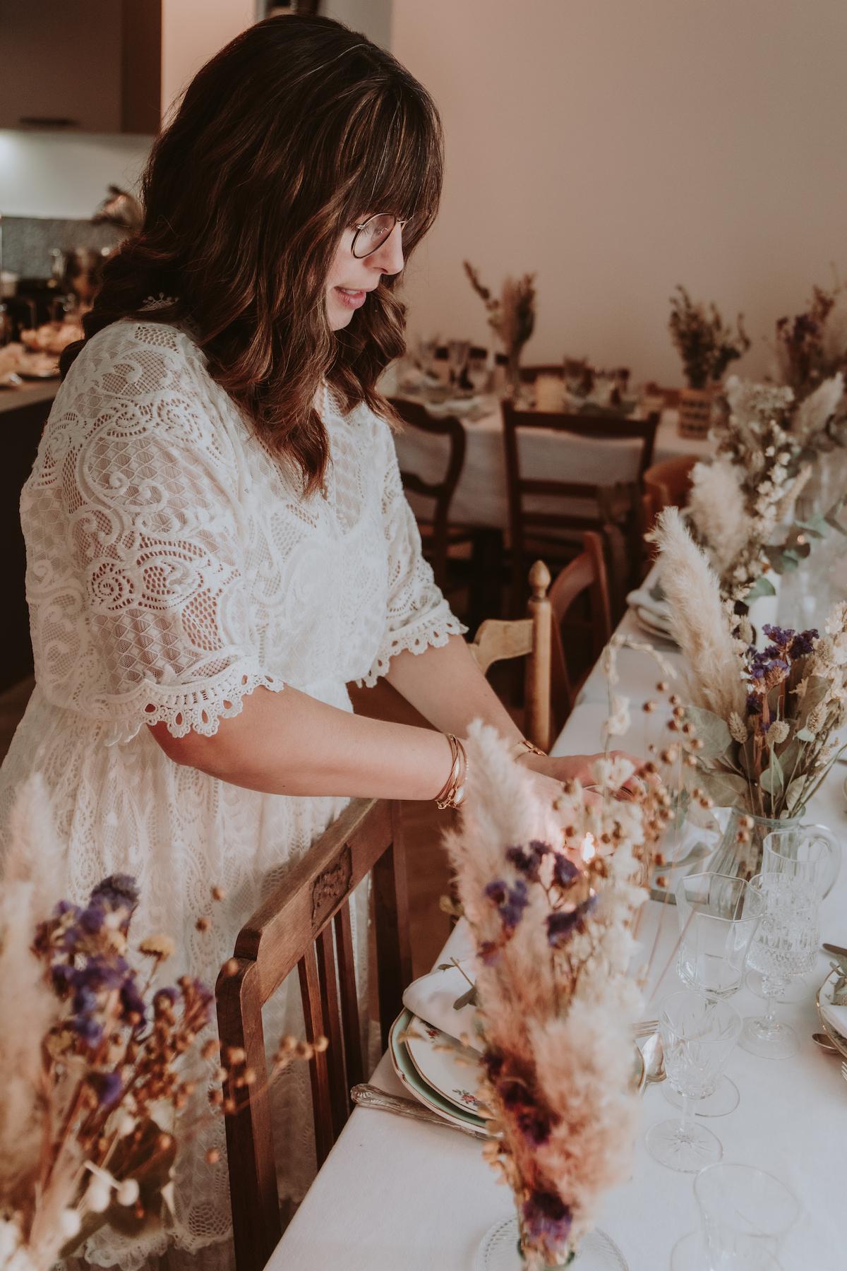 mariage a la maison loire atlantique tables