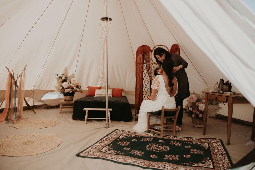 Demeure du pont : lieu de réception mariage écolo