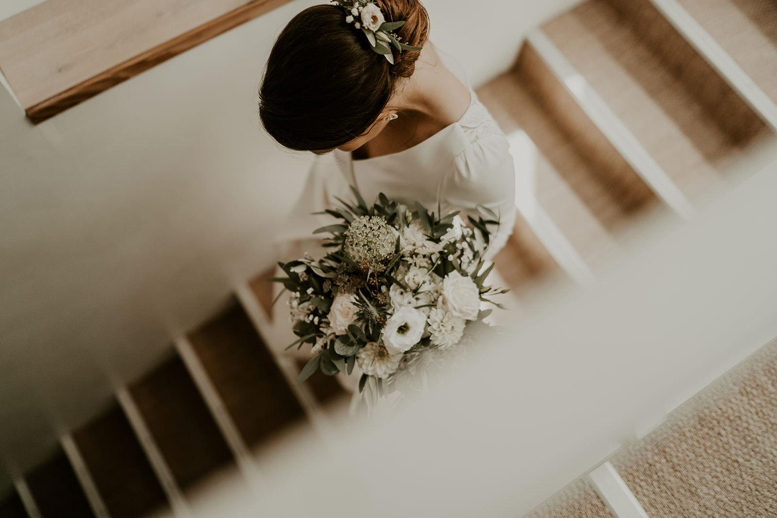 robe de mariee bouquet de mariage rennes