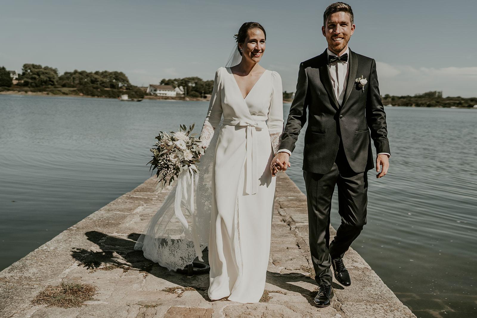 mariage moderne chic bretagne