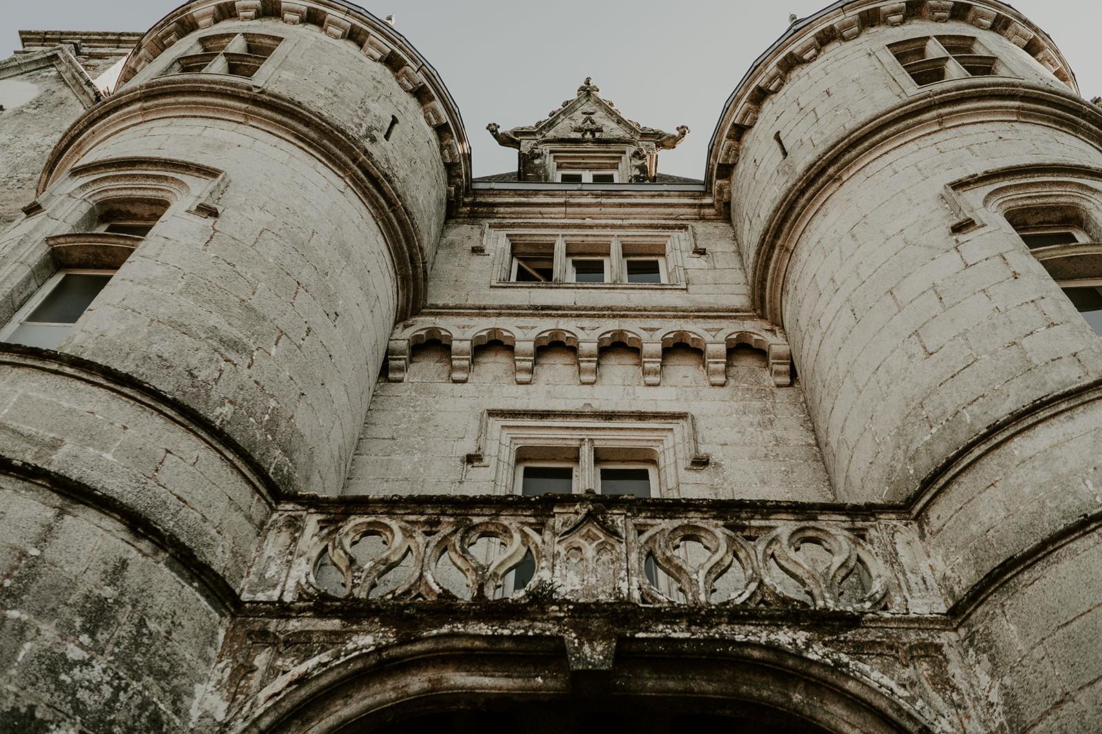 mariage château de Trédion