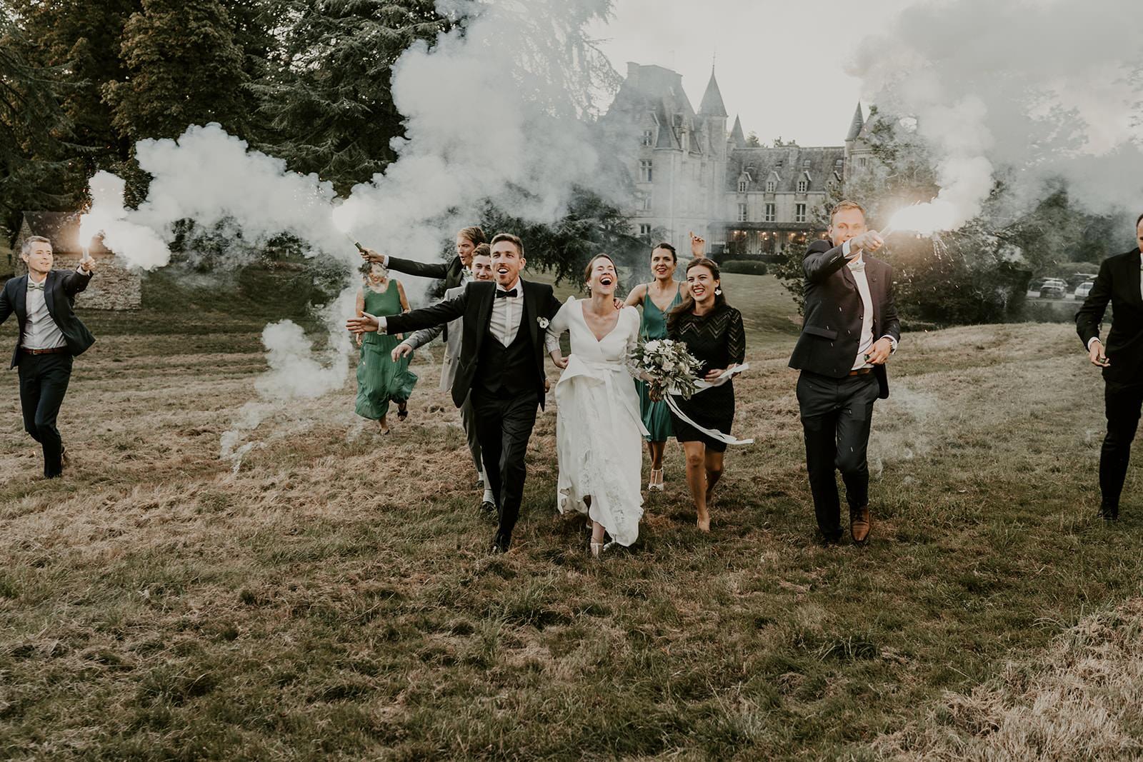 mariage chic élégant château rennes