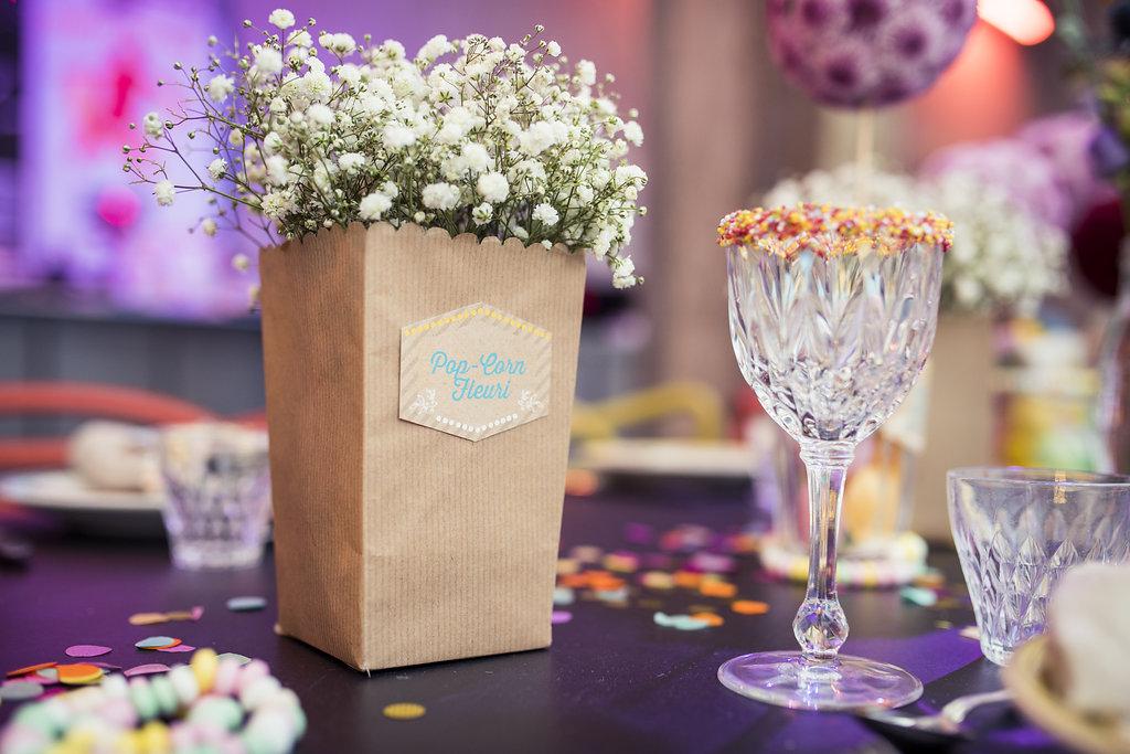 decoration florale mariage inspiration fete foraine