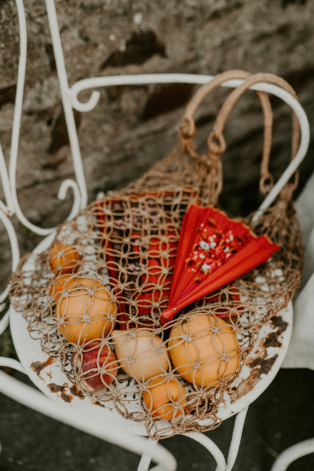 details accessoires mariage inspiration espagnole