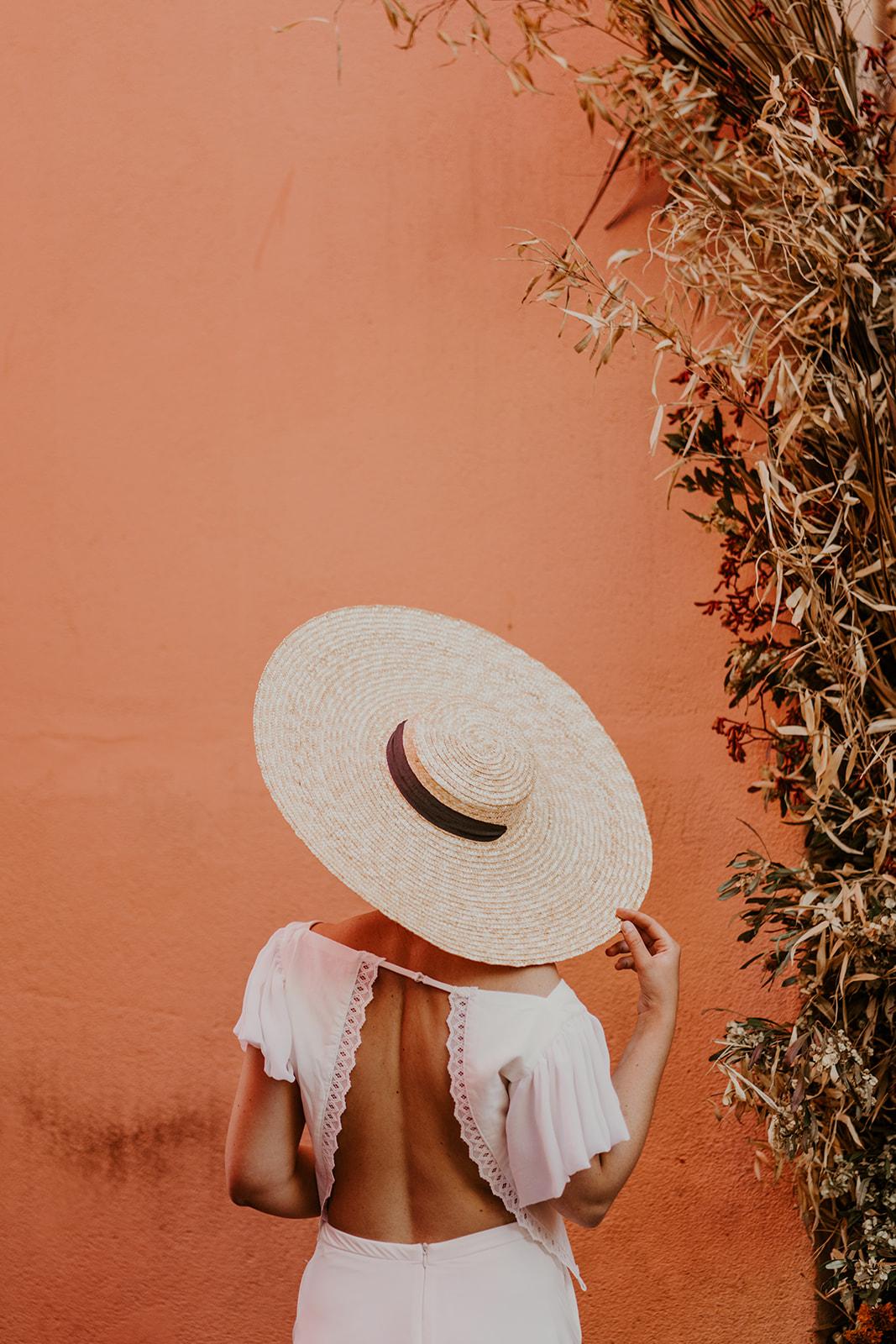 inspiration flamenco chapeau couleur
