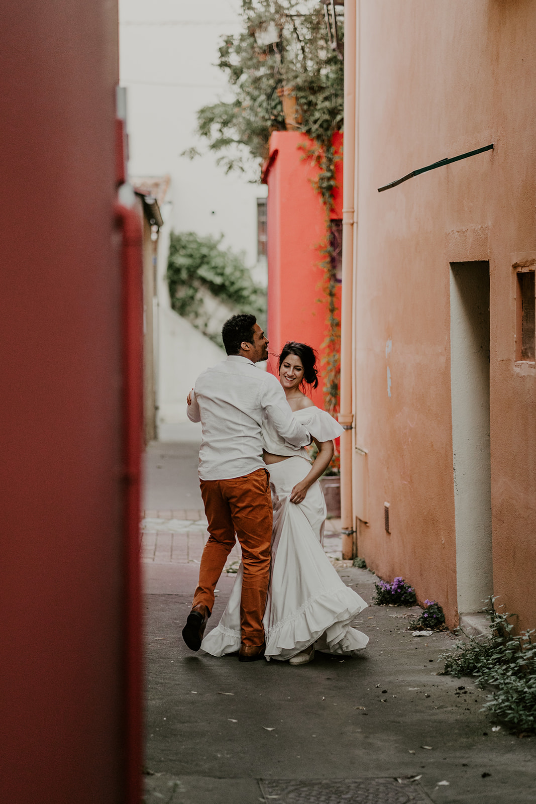 robe de mariee blanche espagnole photo mariage danse