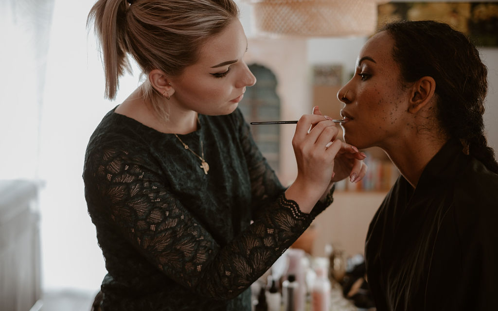 mariage maquillage mariee emerald makeup