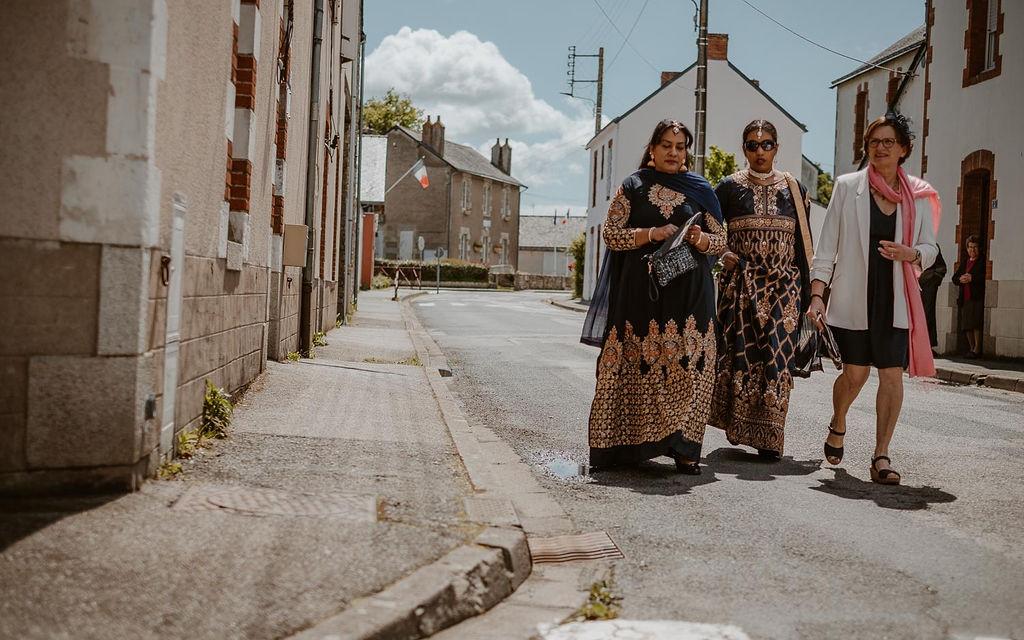 mariage mixte invites tenues indiennes loire atlantique